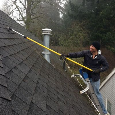 Surrey BC roof cleaning